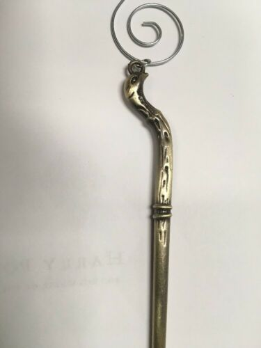 Victor Krum/'s Wand with Deathly Hallows Mark Shawl Pin Harry Potter