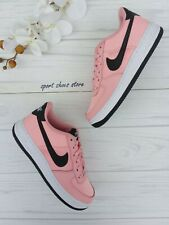 WOMENS NIKE AF1 AIR FORCE 1 UPSTEP SI SIZE 5.5 EUR 39 917591 600 PARTICLE ROSE
