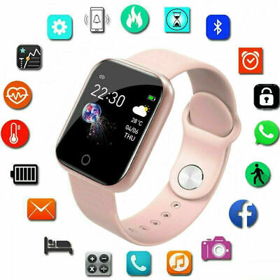 Waterproof Smart Watch Heart Rate Fitness Tracker Bracelet for Android iPhone  | eBay
