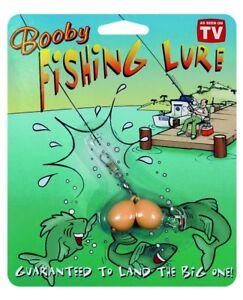 Booby Boobs Fishing Lure Prank Gag Gift Joke