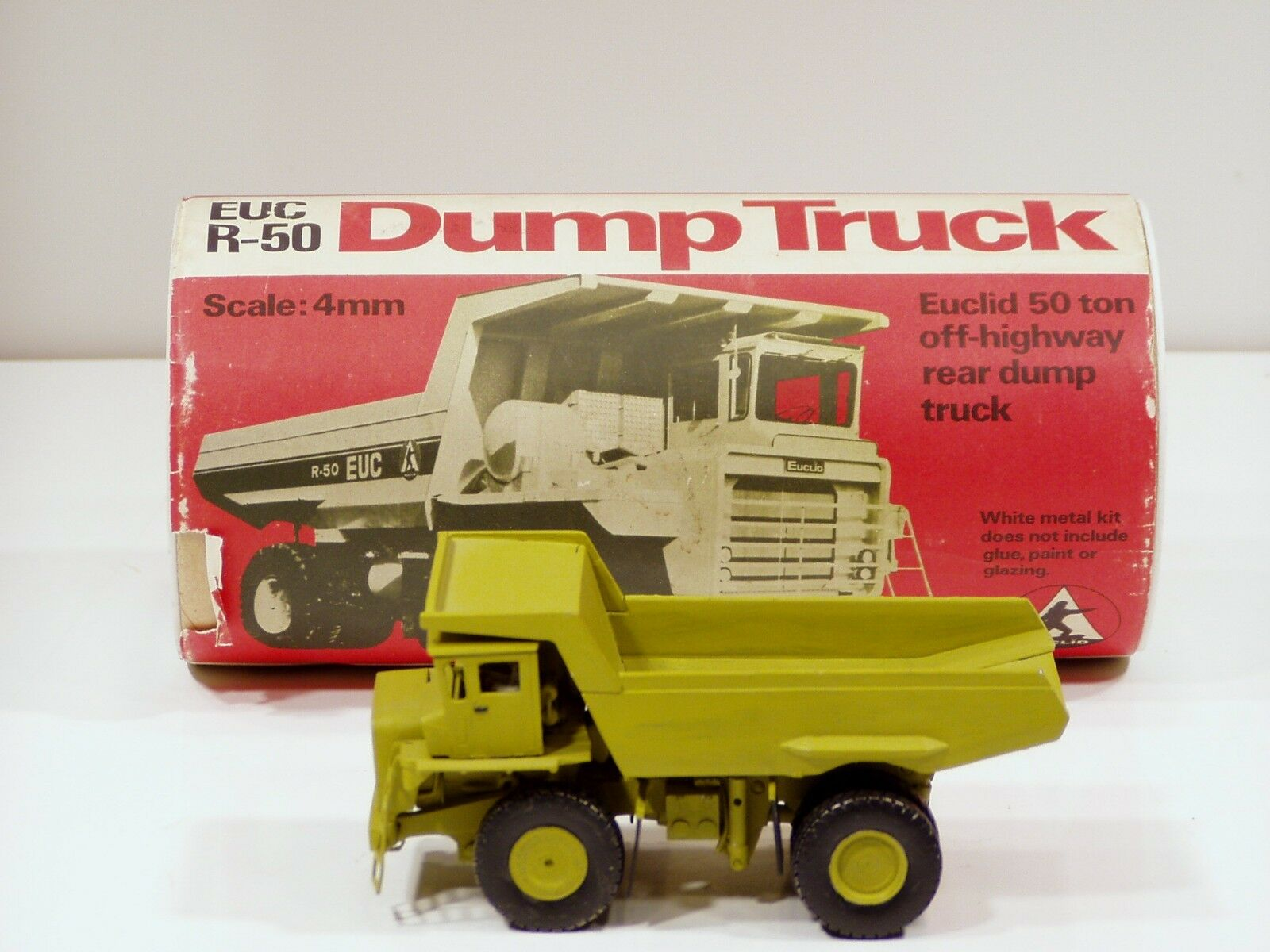 Euclid R50 Dump Truck - 1 50 - P.D.Jones - Built Metal Kit