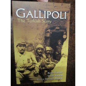 Gallipoli-The-Turkish-Story-WW1-Book-Basarm-Fewster-new-book