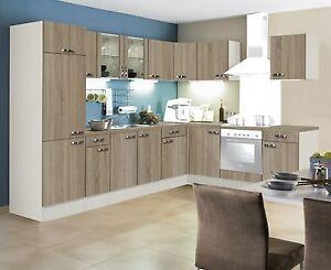 winkelküche l küche kult padua eichehell 330x220 cm ohne geräte