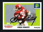 Greg Pruitt 2005 Topps All American #36 signed autograph auto Football Card