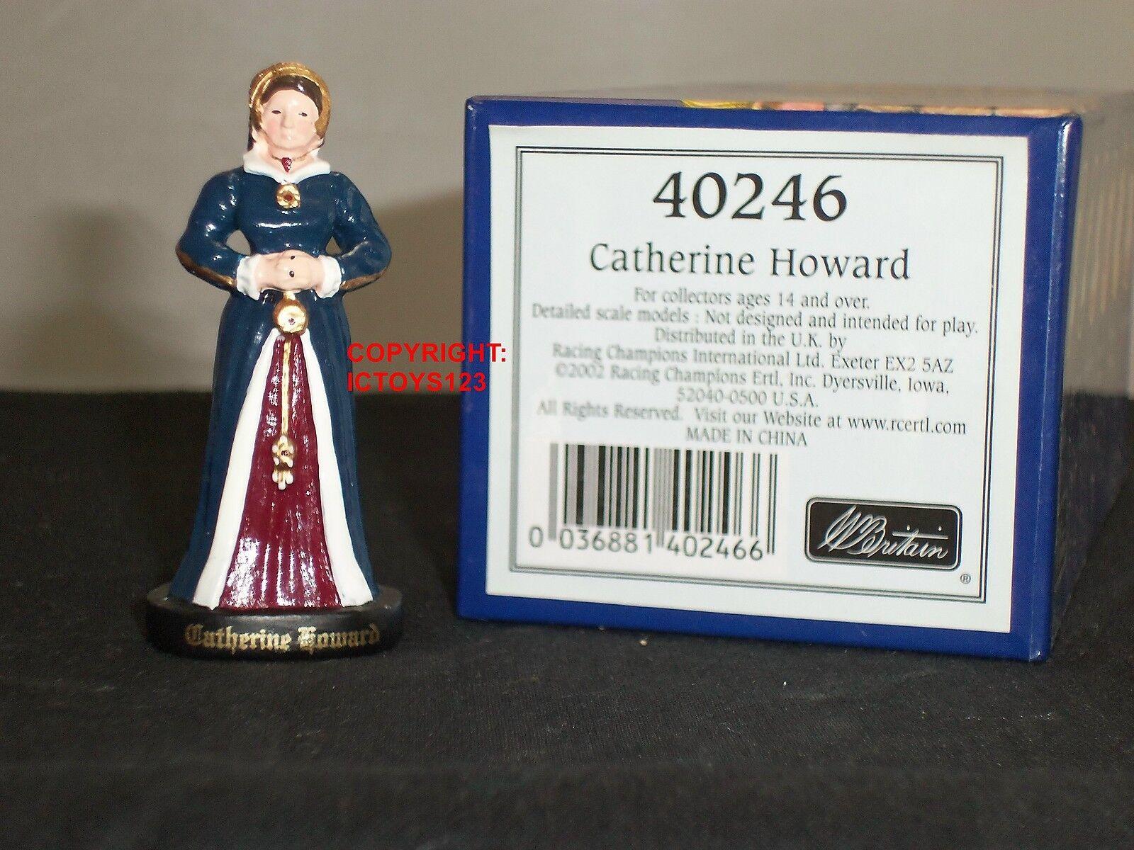 BRITAINS 40246 HENRY VIII WIFE CATHERINE HOWARD METAL CIVILIAN CHARACTER FIGURE