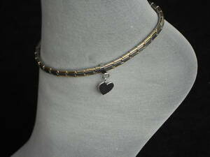 Italian-Charm-Heart-Anklets-Stainless-Steel-Link-Ankle-Bracelets-Christmas-Gifts