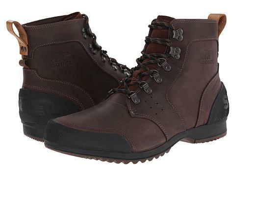 Authentic SOREL Ankeny™ Mid Hiker Tabacco/Black NM2100-256 Winter Boot *NIB*