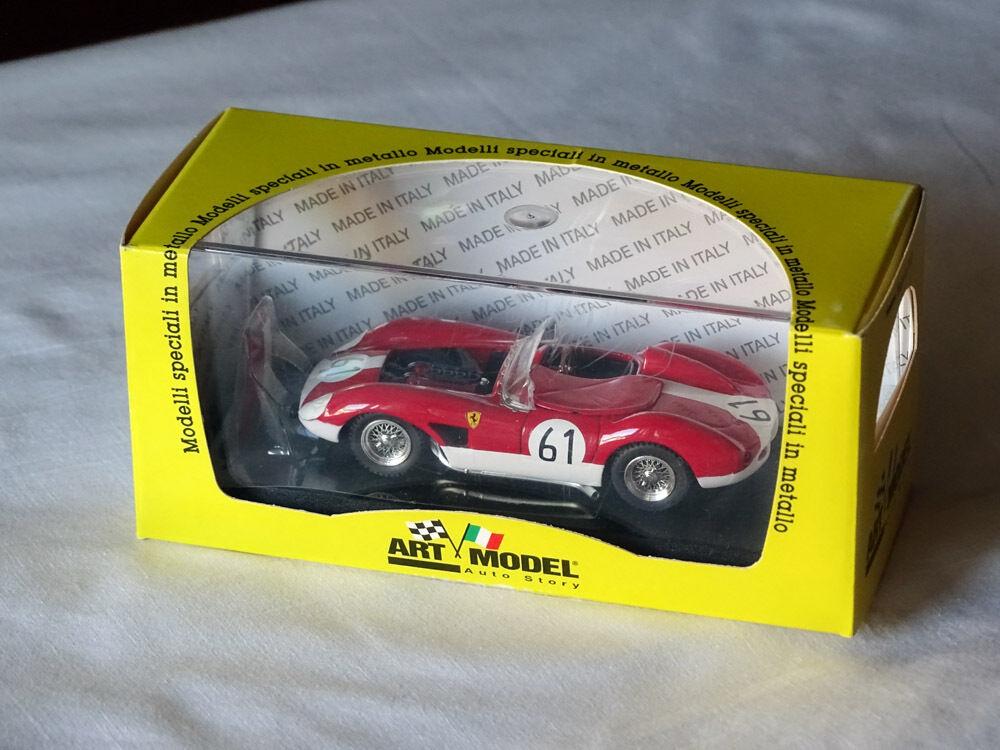 Art Model ART 040 Ferrari 500 TRC Koetcher - Bauer  61 LeMans 1957 1 43 RARE OVP