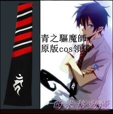 Ao no Blue Exorcist Rin Okumura Anime Cosplay Costume Tie