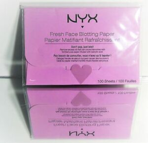 (6 Pack) NYX Blotting Paper (Premium) - Blemish Control RevivaВ® Labs Specialty Rosewater Facial Spray with Rose Extract, Aloe, Herbs, and Hyaluronic Acid 8.0 fl .oz. Spray Bottle
