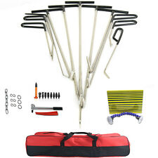 PDR Tools PDR Paintless Rods Hail Dent Ding Repair Tool+Removal Hammer Kits