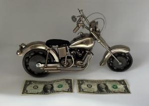 U-S-Navy-Motorcycle-Art-Sculpture-Harley-Davidson-Go-Navy