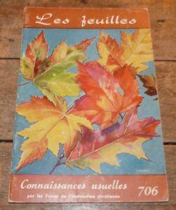 Soft-Cover-French-Book-Connaissances-Usuelles-Freres-de-L-039-instruction-Chretienne