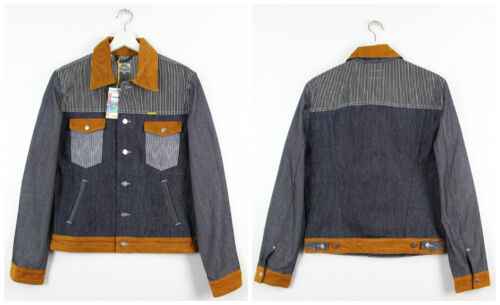 pesce Dry By Hickory e Wrangler Max spina di Giacca Peter m con in l S denim xl cimosa tRwwOdqr