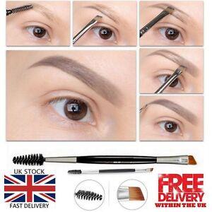 Eyebrow-Double-Ended-Flat-Angled-Eyeliner-Eyeshadow-Make-up-Brow-Mascara-Brush