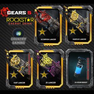 Gears-5-Rockstar-Exclusive-DLC-Lancer-Skin-Code-Xbox-One