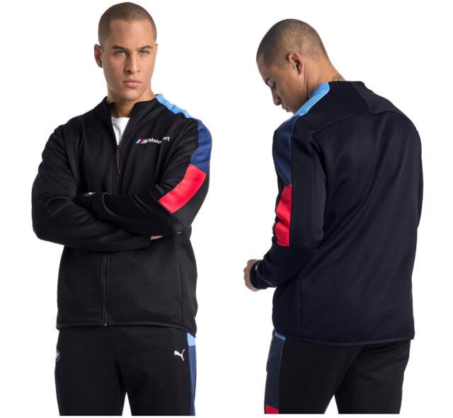1b286dd2 PUMA BMW Motorsport T7 Men's Blue Track Jacket Pants Tracksuit All Sizes