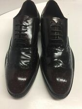 Banana republic Mens 10.5 Cordovan Wing Tip Lace up Leather Oxford Shoes$350