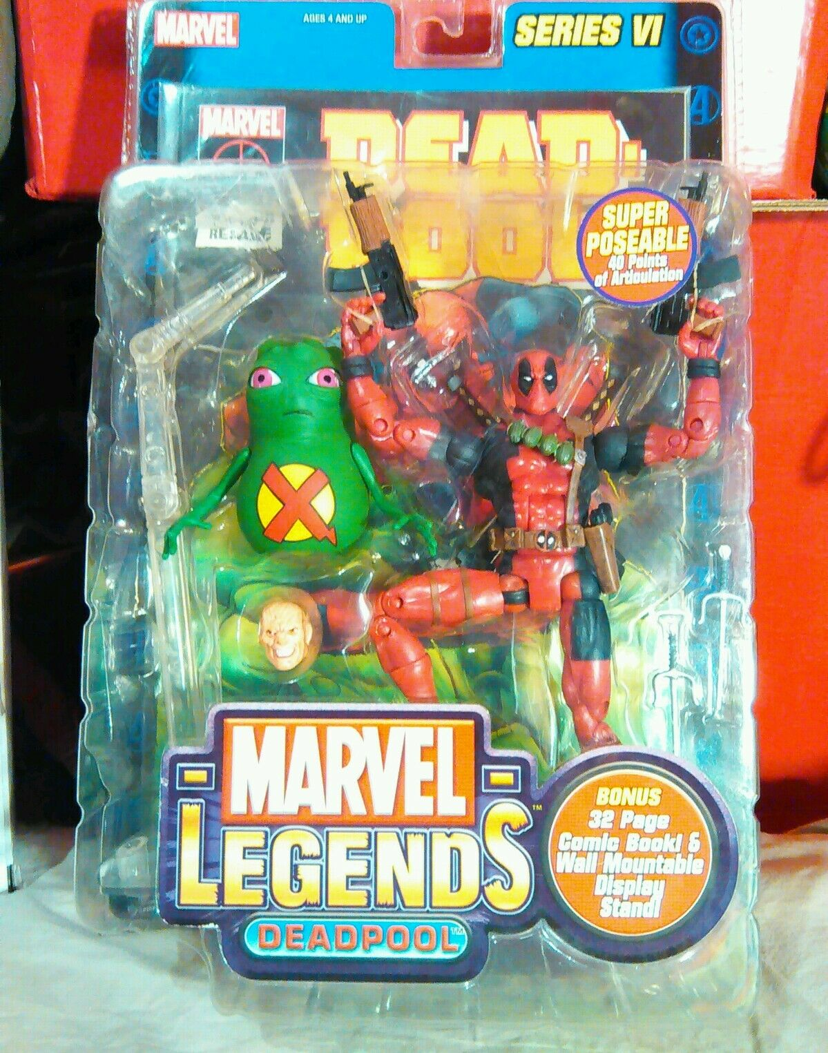 DEADPOOL series VI 6 figure authentic Marvel Legends TOYBIZ SEALED