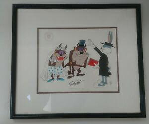 Taz-Wedding-with-Bugs-Bunny-Limited-Edition-Animation-Art-Cel