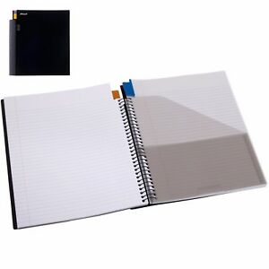 Rexel-Advance-3-Subject-Notebook-150-Sheet-Dividers-280-x-255mm-1-or-5-Pack