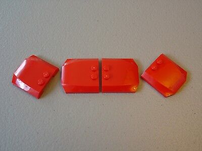 """AUTHENTIC LEGO WEDGE 4x4x2//3 TRIPLE CURVED HOOD ROOF /""""CHOOSE YOUR COLOR/"""" 45677"""