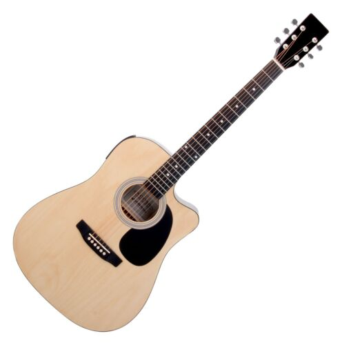 Spitzen Acoustic Western Gitarre mit Tonabnehmer & Stimmgerät Anfänger & Profis