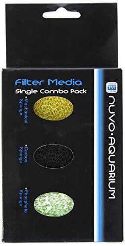 Innovative Marine 939064 Nuvo Midsize 3 Stage Filter Media Single Combo Pack