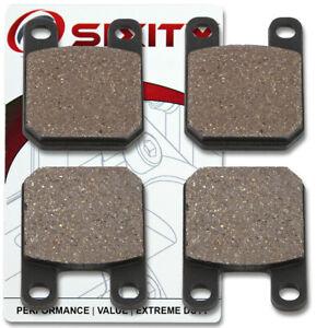 Front-Rear-Ceramic-Brake-Pads-1999-2001-Derbi-Predator-Set-Full-Kit-ke