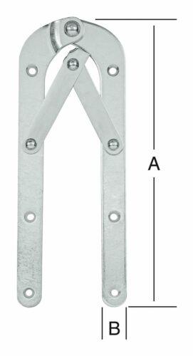Vormann Leiterband gebogen Feststeller 250X21 verzinkt 000033250Z