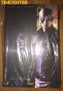 Details About Ready Hot Toys Vgm22 Resident Evil 6 Biohazard 1 6 Leon S Kennedy Bio Hazard