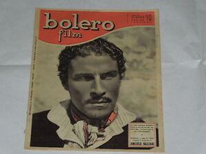 BOLERO FILM DEL 20/03/1949-AMEDEO NAZZARI-LUCIA SANT'ELMO, ANGELA BELFORTE, FRID - Italia - BOLERO FILM DEL 20/03/1949-AMEDEO NAZZARI-LUCIA SANT'ELMO, ANGELA BELFORTE, FRID - Italia