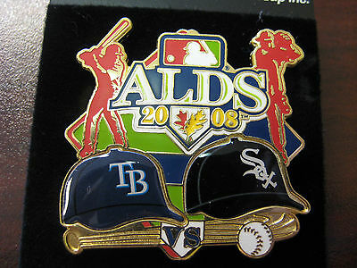 2008 ALDS Dueling Pin - Rays vs. White Sox, Ver. 1