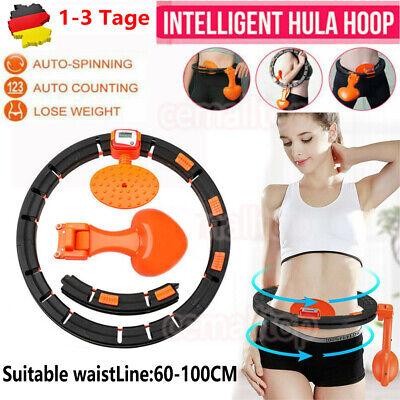 Einstellbar Smart Hula Hoop Fitness Massagenoppen Bauchtrainer Gymnastikreifen++