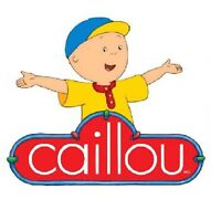 Caillou Iron On T Shirt / Pillowcase Fabric Transfer 1