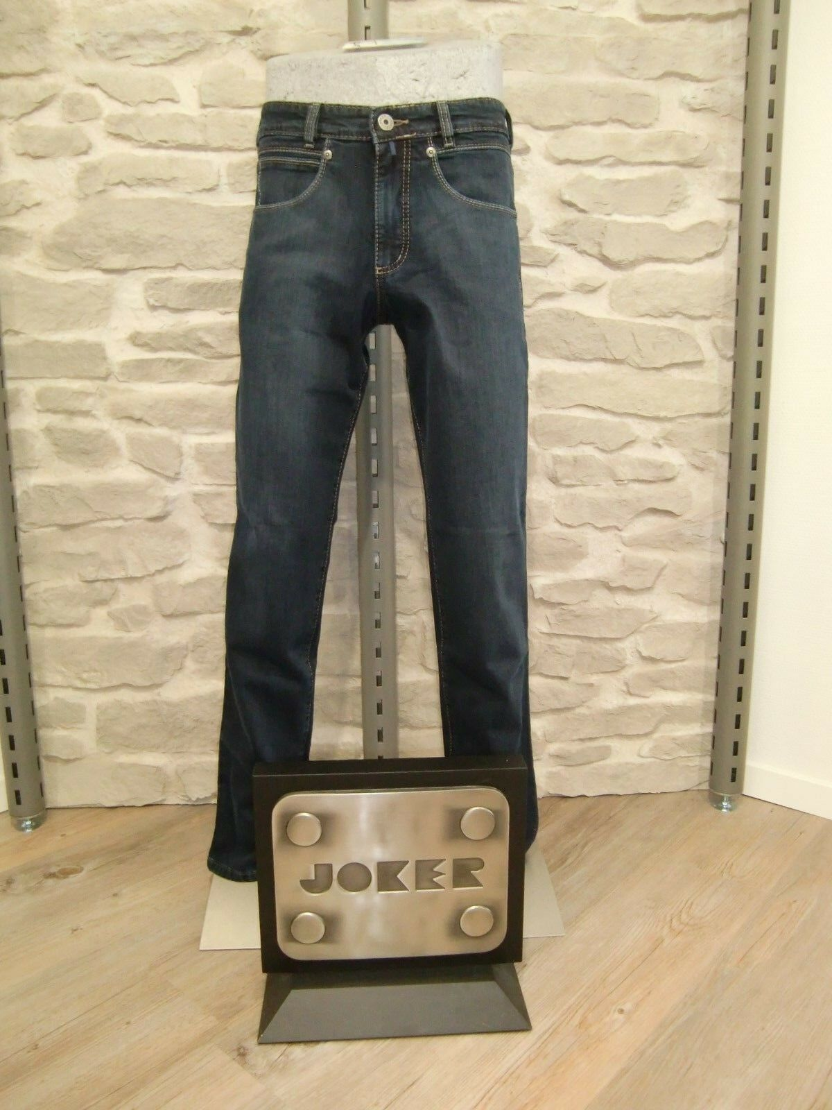 JOKER Jeans  FrotDY  Blau schwarz used    Gr. W36   L32