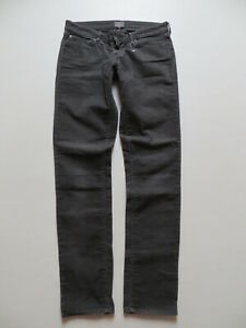 Levi-039-s-Damen-Cord-Jeans-Hose-W-30-L-32-grey-coloured-SKINNY-fit-Cordhose-RAR