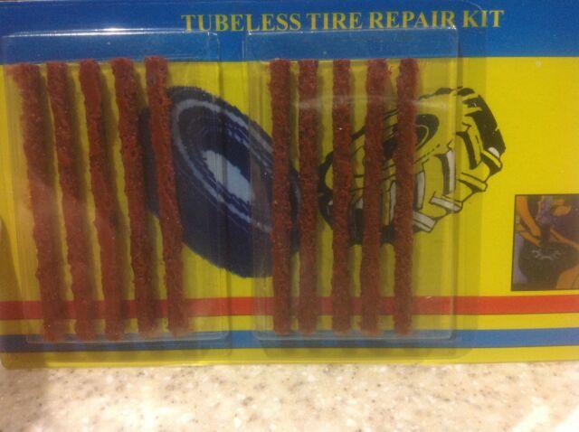 Tire Repair Kit Plugs 10PCS Tubeless Tire Kit Plugs