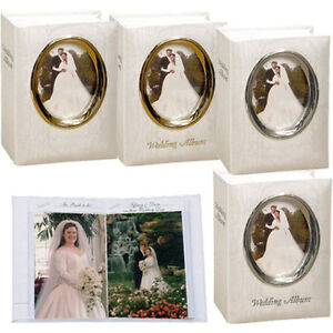 3-Pioneer-WFM-46-Oval-Framed-Wedding-Albums-Holds-100-4-x-6-Photos-Asst-Designs