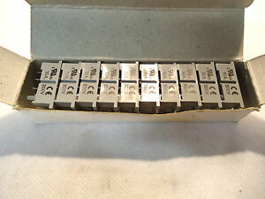 NEW BOX OF 10 DAYTON 2A583 2A583F RELAY BASE SOCKET