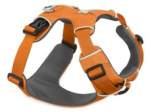 Ruffwear Front Range Dog Harness 30501/801 Orange Poppy Updated 2017 model NEW