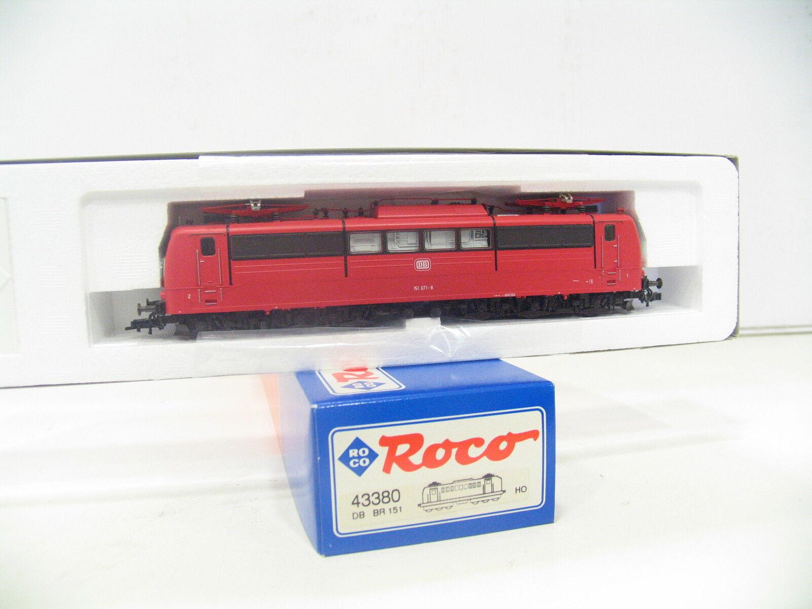 Roco 43380 e-Lok br 151 rosso de la DB as497
