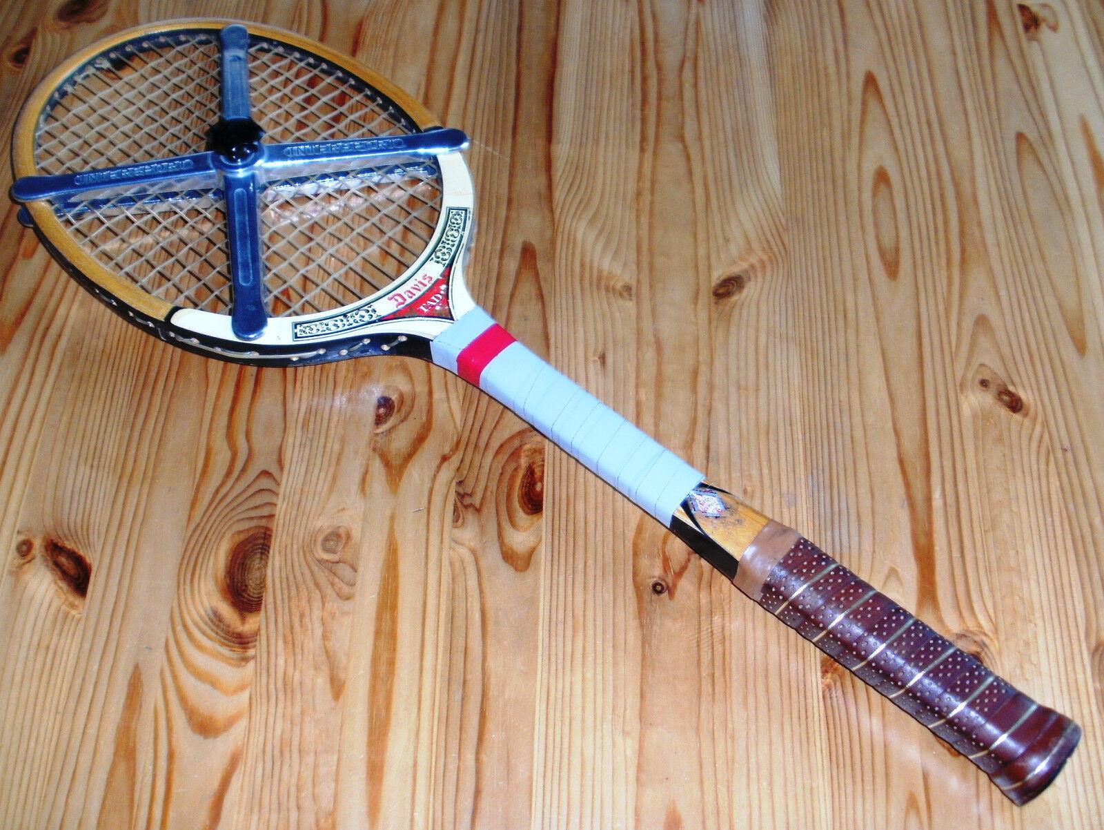 TAD Tennisschläger Tennisschläger Tennisschläger Davis Holzrahmen mit Schlägerspanner Vintage, Gr. 4 5 8    | Qualifizierte Herstellung  | Verrückter Preis, Birmingham  | Verrückter Preis, Birmingham  a44306