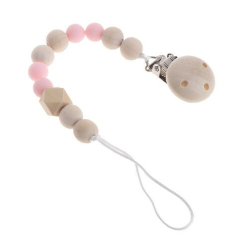 Baby Kids Unisex Chain Clip Holders Dummy Pacifier Soother Nipple Leash Strap