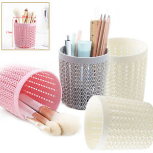Cylinder-Hollow-Pen-Pot-Holder-Simple-Scissors-Sunglasses-Makeup-Brush-Container
