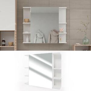VICCO-Spiegelschrank-FYNN-80-x-64-cm-Weiss-Spiegel-Badspiegel-Bad-Wandspiegel