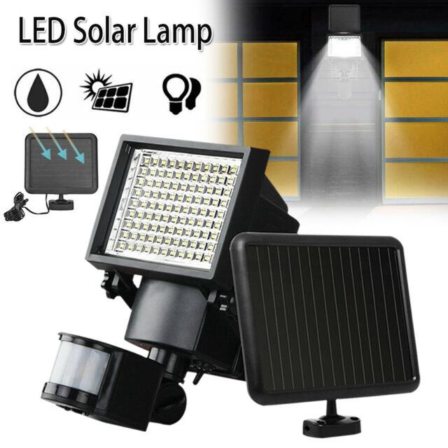 120 LED Solar Sensor Lights Outdoor Motion Detection Light Security Garden AU
