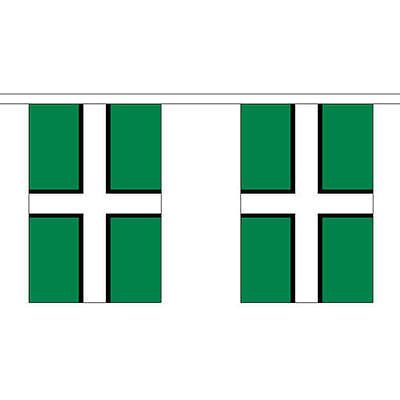 10 flag bunting Devon British County 3 metre long