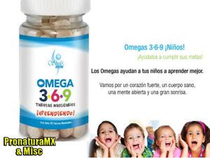 Pastillas Masticables Omega 3 6 Y 9 Para Niños Corazon Y Cuerpo Sano Shelo Nabel Ebay