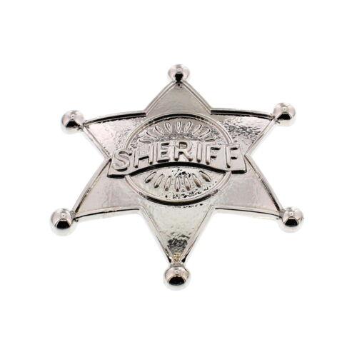 Zac/'s alter ego ® Fancy Dress Brillante Insignia de Sheriff